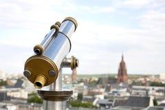 Acuñe el telescopio Foto de archivo