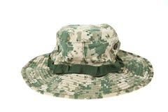 acu kamuflażu kapeluszu wojskowy Zdjęcia Royalty Free