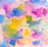Acuarela abstracta stock de ilustración