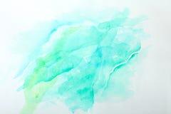 Acuarela abstracta Imagen de archivo libre de regalías