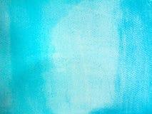 Acuarela azul Imágenes de archivo libres de regalías