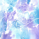 Acuarela background11 ilustración del vector