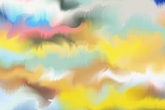 Acuarela colorida abstracta con el espacio de la copia para el lugar su desi Foto de archivo