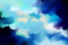 Acuarela colorida abstracta con el espacio de la copia para el lugar su desi Foto de archivo libre de regalías