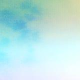 Acuarela crepuscular pintada Foto de archivo libre de regalías