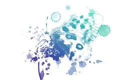 Acuarela hermosa de la mariposa stock de ilustración