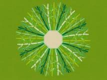 Acuarela Mandala Background Design Illustration oriental de bambú Fotografía de archivo
