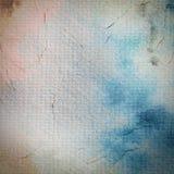 Acuarela pintada en la textura de papel Imagen de archivo
