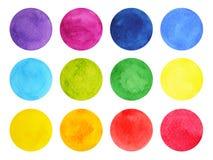 Acuarela que pinta el diseño colorido del modelo, mano dibujada libre illustration