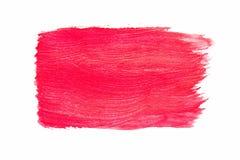 Acuarela roja Fotografía de archivo