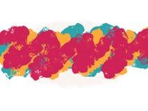 Acuarela suave colorida que cepilla el fondo abstracto stock de ilustración