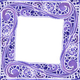Acuarela un modelo cuadrado del color azul marino Imagen de archivo libre de regalías