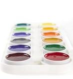 Acuarelas coloridas Imagen de archivo libre de regalías