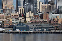 Acuario de Seattle en la costa, Seattle, Washington Fotos de archivo
