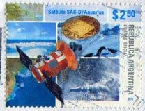 Acuario por satélite Fotografía de archivo