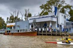 Acuatic-Gastreibstoff-Tankstelle Lizenzfreies Stockbild