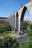 Acueducto de Lisboa Fotos de archivo libres de regalías