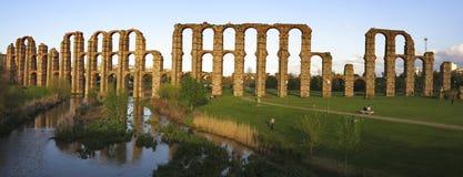 The Acueducto de los Milagros. Royalty Free Stock Photos