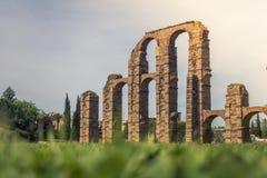 Acueducto de Los Milagros, Mérida Lizenzfreies Stockbild