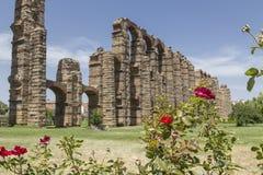 Acueducto de Los Milagros, Mérida, Spanien Stockfoto