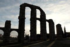 Acueducto de Mérida Imágenes de archivo libres de regalías