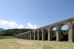 Acueducto de Nottolini en Lucca Imagen de archivo libre de regalías