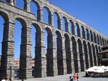 Acueducto de Segovia Fotos de archivo libres de regalías