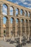 Acueducto de Segovia 10 Imagen de archivo libre de regalías