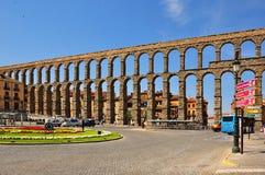 Acueducto de Segovia, España fotografía de archivo libre de regalías