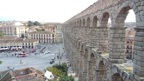 Acueducto de Segovia, Spain stock image