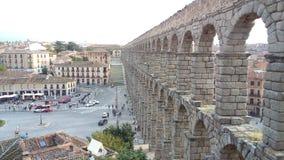 Acueducto De Segovia, Spanien Stockbild