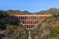 Acueducto del à  guila (Eagle Aqueduct) Stock Afbeeldingen