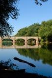 Acueducto del río de Monocacy Foto de archivo libre de regalías