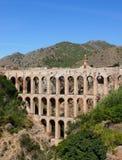Acueducto en Costa del Sol. España Imagen de archivo libre de regalías