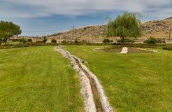 Acueducto en Hierapolis Fotografía de archivo libre de regalías