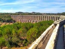 Acueducto en Portugal imágenes de archivo libres de regalías