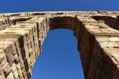 Acueducto en Segovia Fotografía de archivo