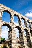 Acueducto en Segovia, España Fotos de archivo