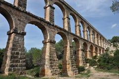 Acueducto en Tarragona Fotos de archivo