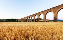 Acueducto near Pamplona Stock Photos