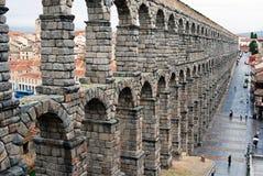 Acueducto romano Imagen de archivo libre de regalías