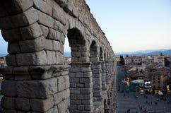 Acueducto romano Foto de archivo