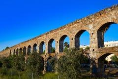Acueducto San Lazaro in Merida Badajoz-Aquädukt Stockfoto