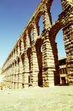 Acueducto in Segovia, Spanien Lizenzfreies Stockbild