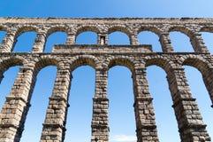 Acueducto in Segovia, Spanien Stockbilder