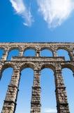 Acueducto in Segovia, Spanien Lizenzfreie Stockfotos