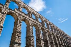Acueducto in Segovia, Spanien Stockfotografie