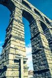 Acueducto in Segovia, Spanien Lizenzfreie Stockbilder
