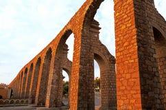 Acueducto Zacatecas, México imagenes de archivo