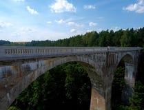 Acueductos ferroviarios - Stanczyki Imágenes de archivo libres de regalías